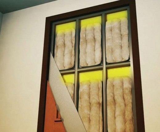 как утеплить металлическую входную дверь, как утеплить коробку входной металлической двери, как правильно утеплить входную металлическую дверь